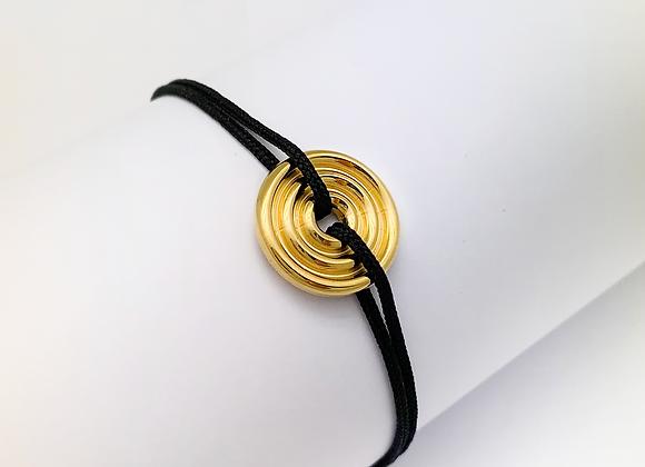 Bracelet ONDE Plaqué Or