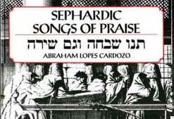 Pesah Melodies, Sung by Rev. A. Lopes Cardozo