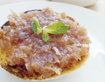Apple Peel and Mint Chutney