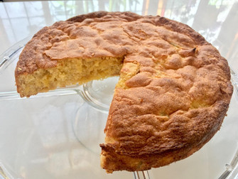 Passover Apple Almond Cake