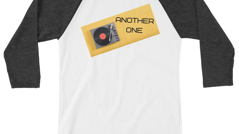 ANOTHER ONE 3/4 sleeve raglan shirt