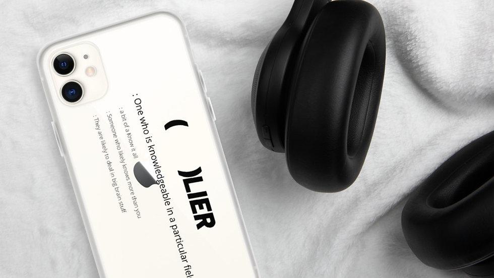 (     )LIER iPhone Case