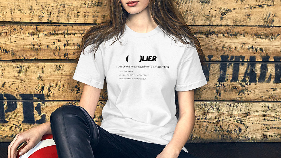 (   )LIER Short-Sleeve Unisex T-Shirt