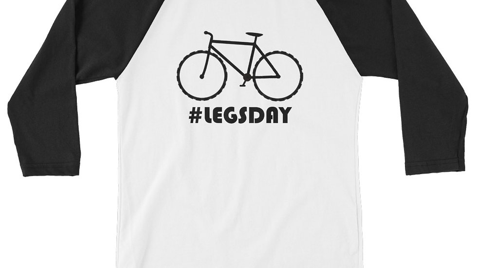 #LEGSDAY 3/4 sleeve raglan shirt