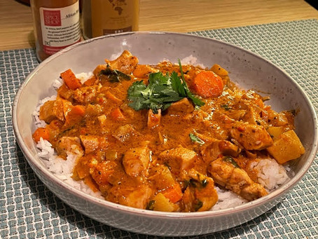 Ebi: Chicken and Coconut Milk Stew with Rice