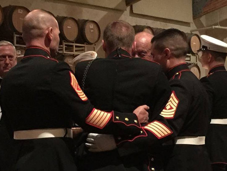 Wine Country Marines Ball goes viral