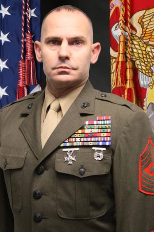 SgtMaj Larry Liechty, USMC