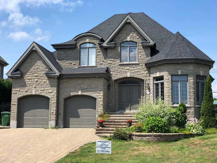 Toitures intact roofing shingles