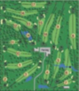 Llyndinshre Golf Course Map