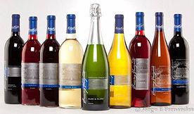 Crossing Vineyards wine bottles