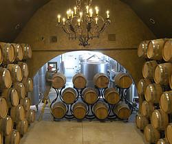 the barrel room side