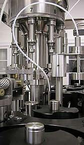 the bottling machine