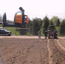 laser vine planting