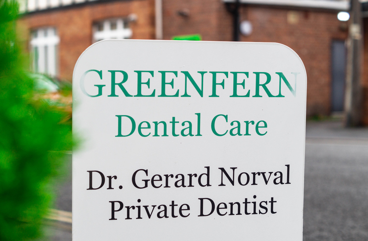 Greenfern Dental Care Sign