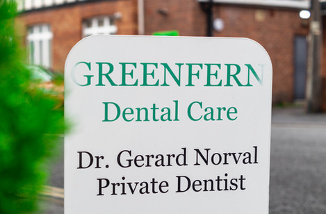 Greenfern Dental Care Sign