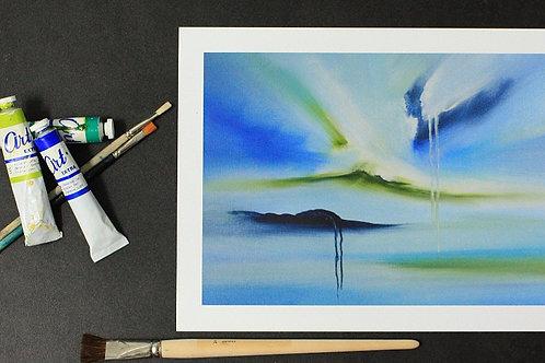 Blue Ocean Dialog #04 30 x 40 cm