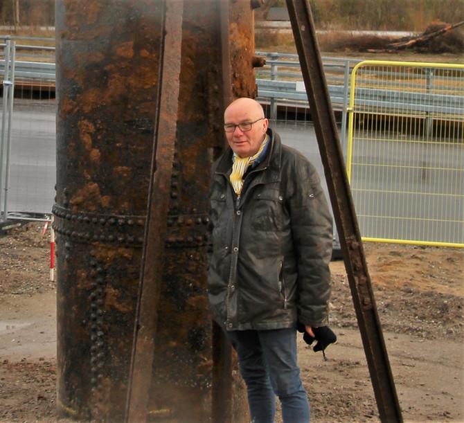 Skulptur i SporbyenScandia i Randers