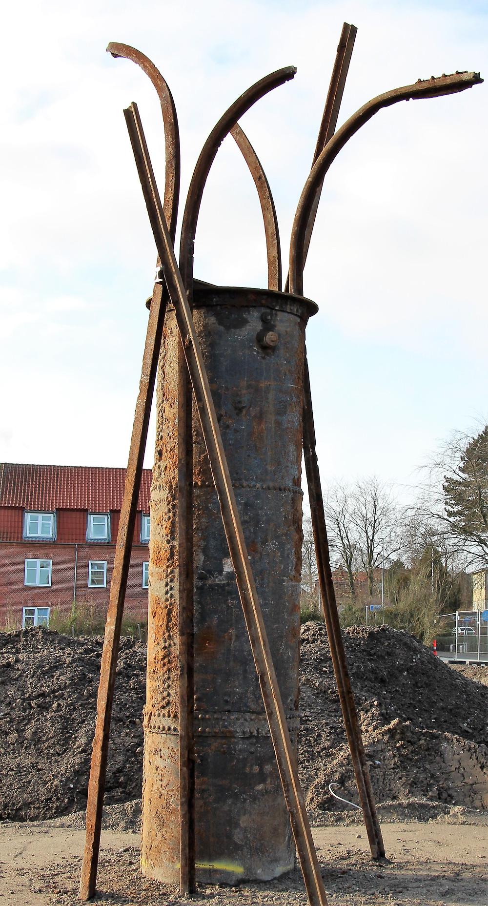 Fantastisk Bæredygtigt kunst i Sporbyen i Randers
