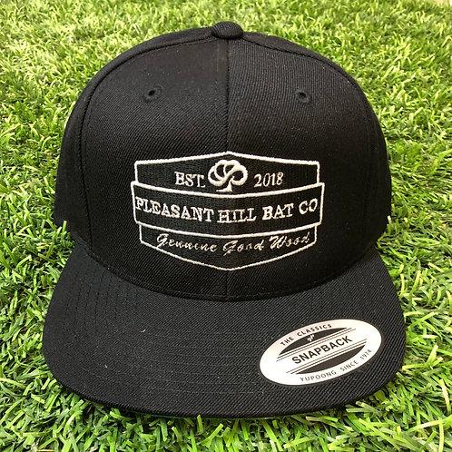 Pleasant Hill Bat Co. Snapback Hat