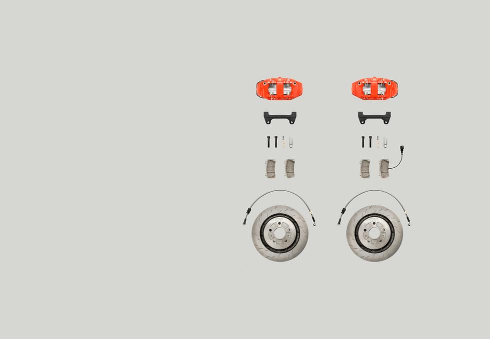 RacingLine stage 2 brake kit