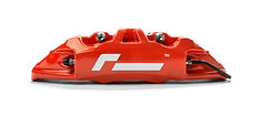 Golf R red calipers