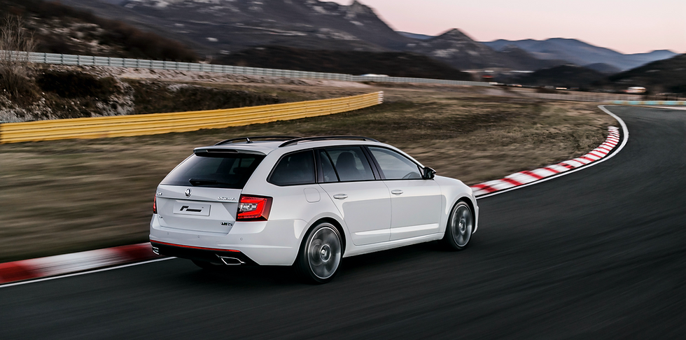 Skoda Octavia mk3 RS Tuning and performance parts upgrades