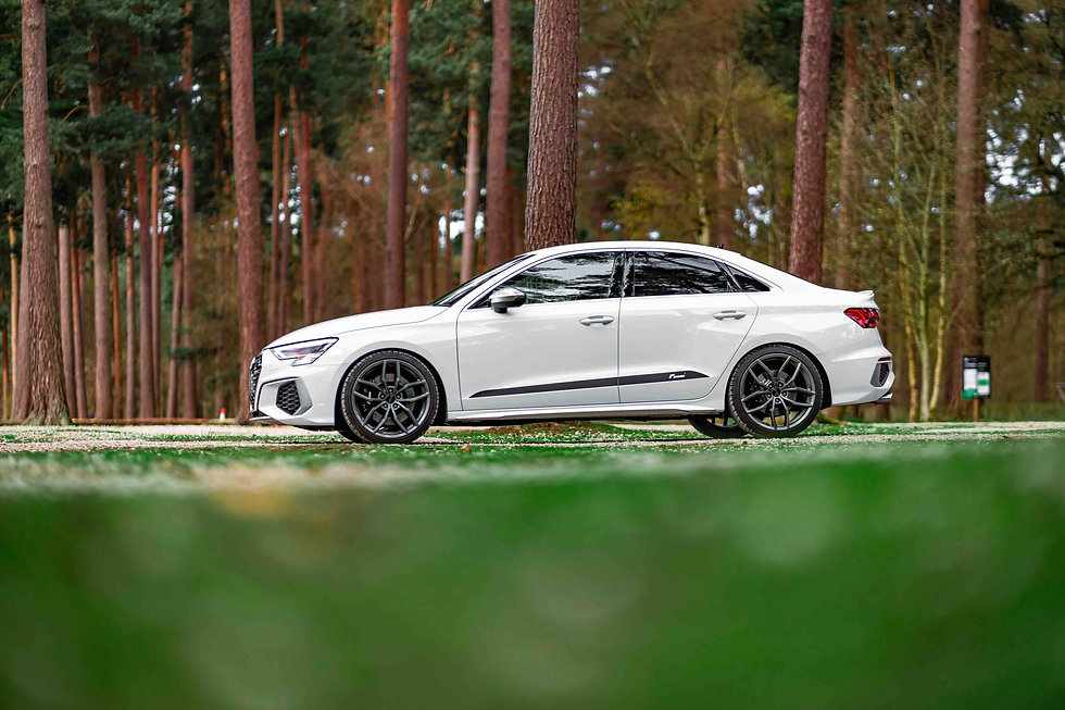 Audi S3 8Y lowering springs for 2020 and 2021 models