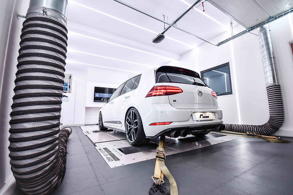 VW Golf R Software