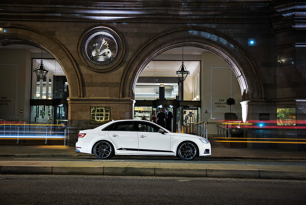Audi S4 B9 performance tuning stage 1 stage 2