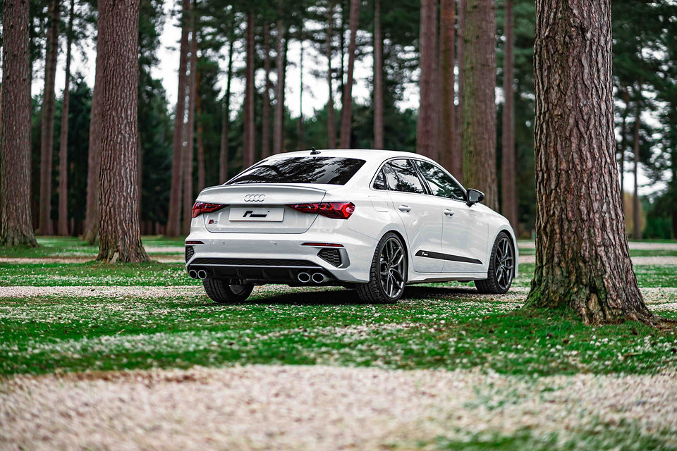 new Audi S3 8Y lowering springs modified suspension