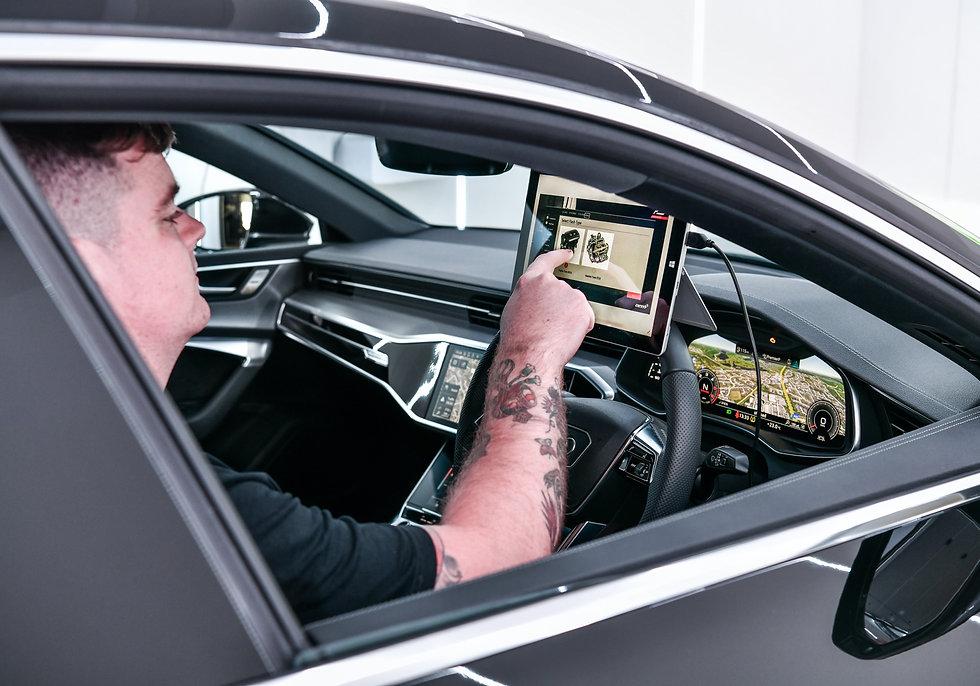 RacingLine Audi 3.0 tdi software