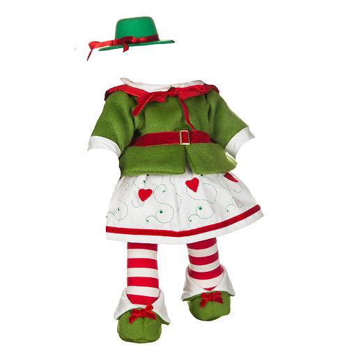 Vestito Elfo Verde