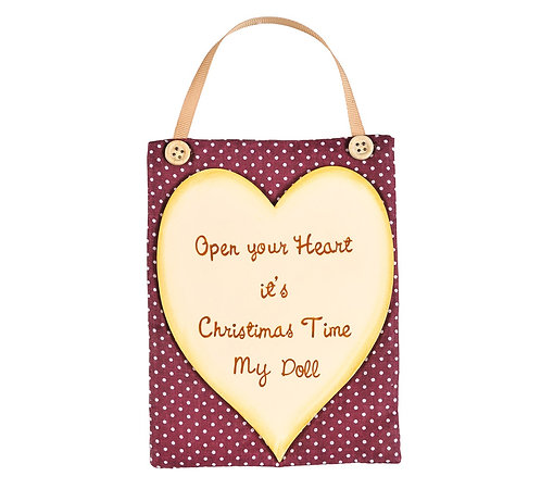 Open Your Heart it's Christmas Time