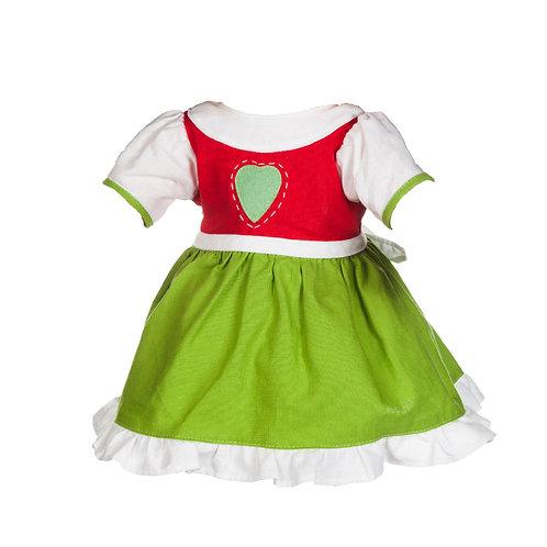 Vestito Cuore&Gonna Verde