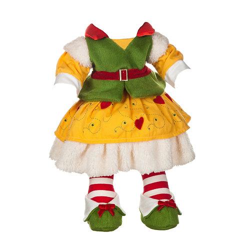 Vestito Elfo Giallo