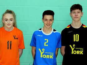 Three York Volleyball Players get the England Call