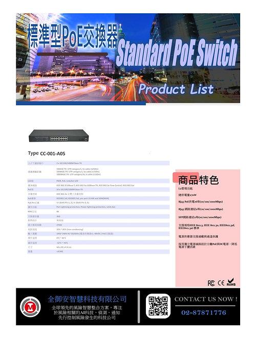 標準型POE交換器CC001A05