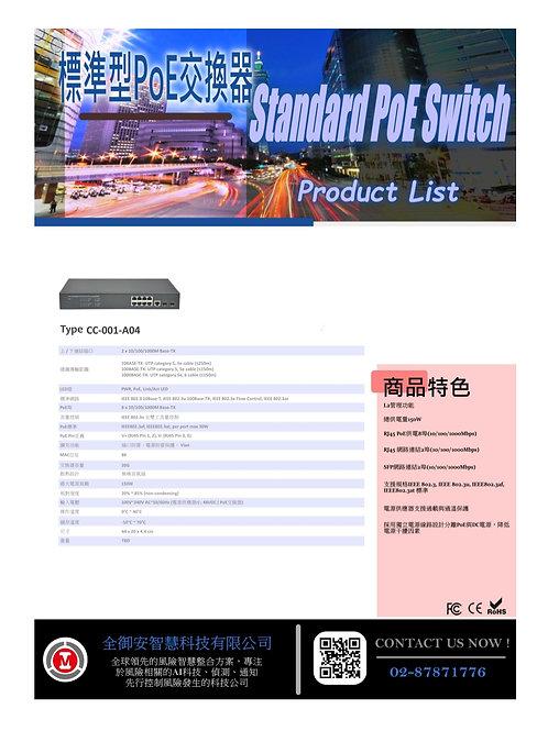 標準型POE交換器CC001A04