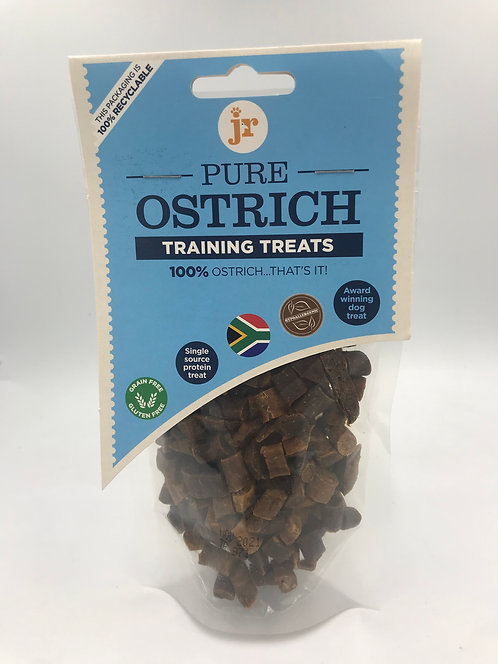 Ostrich training treat