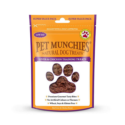 Pet Munchies chicken and liver treats