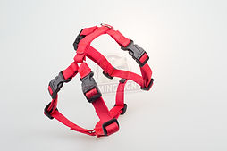 Calming Signs harness red