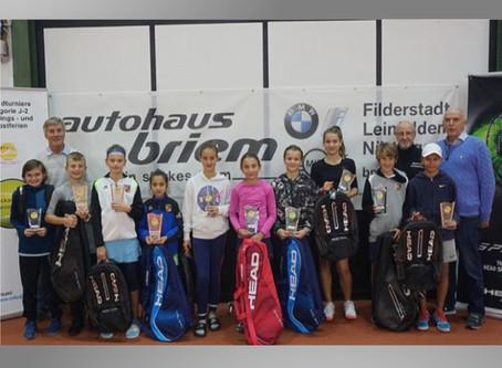 21. Neckar-Filder Junior Open mit großer Beteiligung