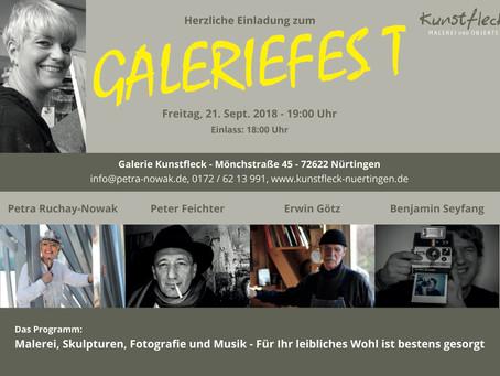 Galeriefest in der Galerie Kunstfleck