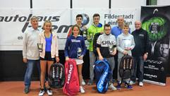 Siegerehrung Juniorinnen U16 und Juniore