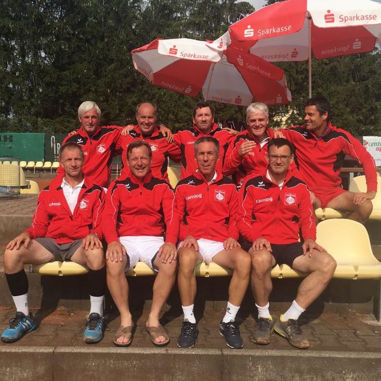 Mannschaft H50 Regionalliga mit Uwe Allgaier