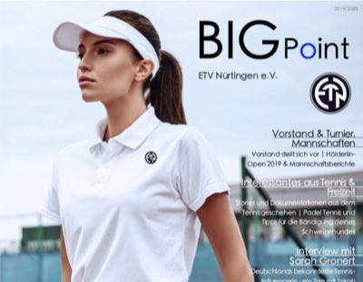 ETV Vereinszeitschrift BigPoint 2019/2020