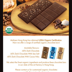 USDA Organic Certified Chocolates