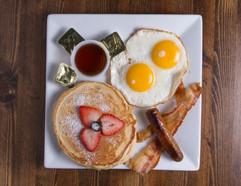 Eggs Pancakes