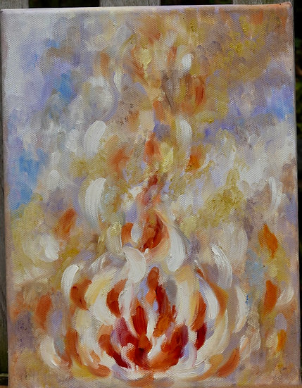 """Burning Bush""SOLD"