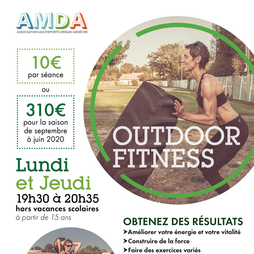 AMDA Outdoor Fitness 2019-2020